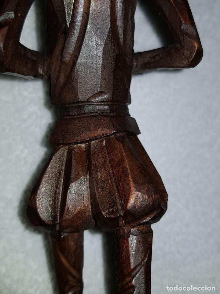 Arte: Talla madera de Don Quijote - Foto 9 - 110498379