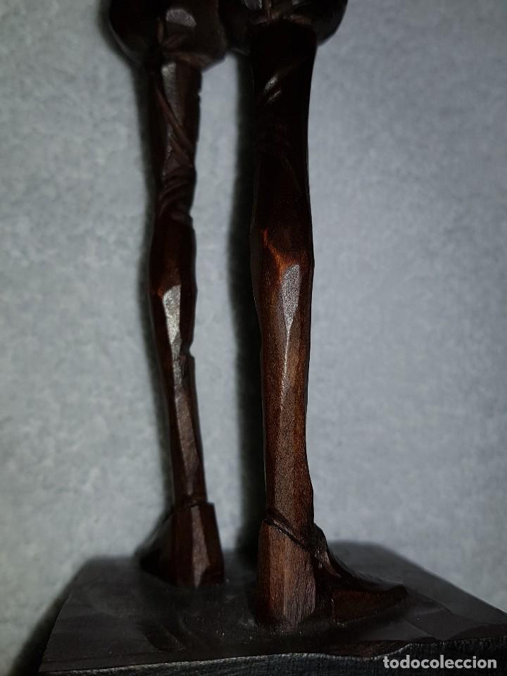 Arte: Talla madera de Don Quijote - Foto 10 - 110498379