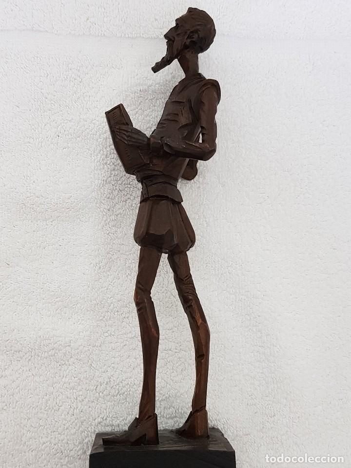 Arte: Talla madera de Don Quijote - Foto 13 - 110498379