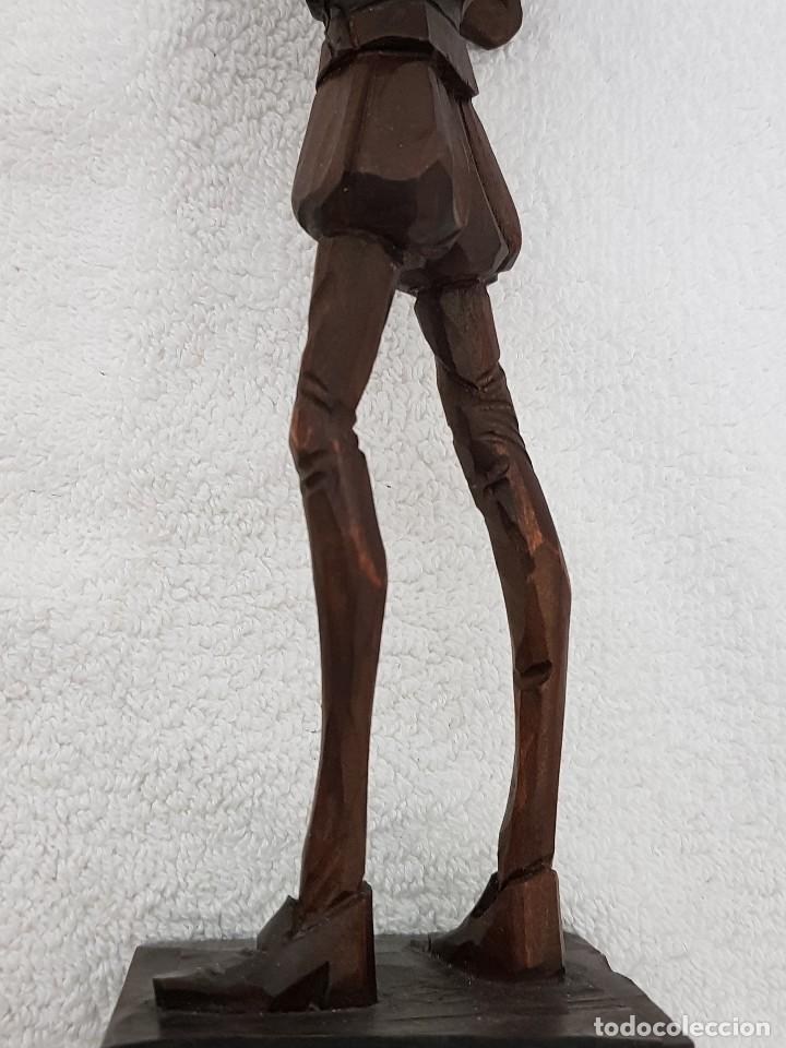 Arte: Talla madera de Don Quijote - Foto 15 - 110498379