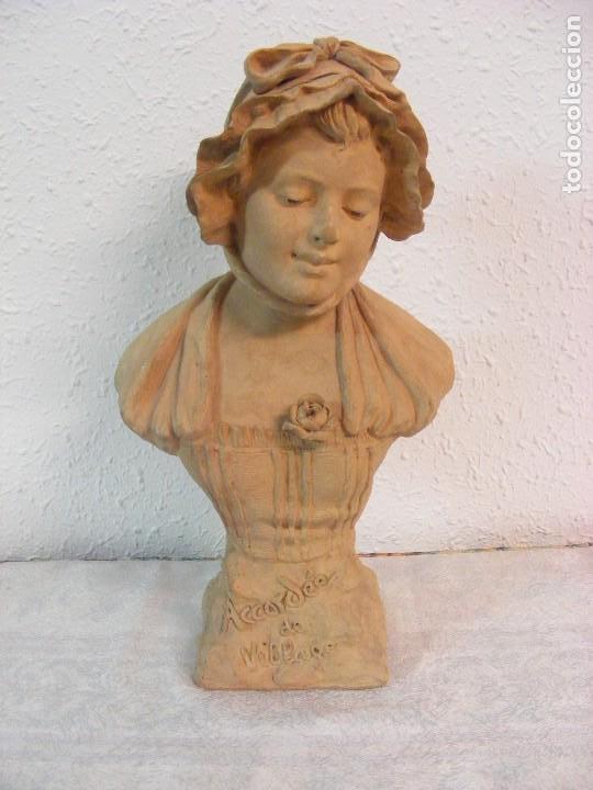 TERRACOTA FIRMADA G.OMERTH (Arte - Escultura - Terracota )