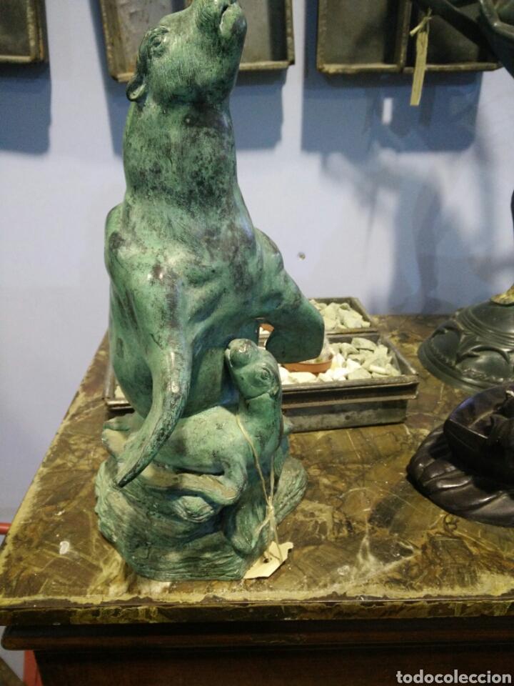 FIGURA DE BRONCE (Arte - Escultura - Bronce)