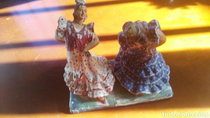 Arte: Flamencas en ceramica antigua de triana - Foto 2 - 111343555