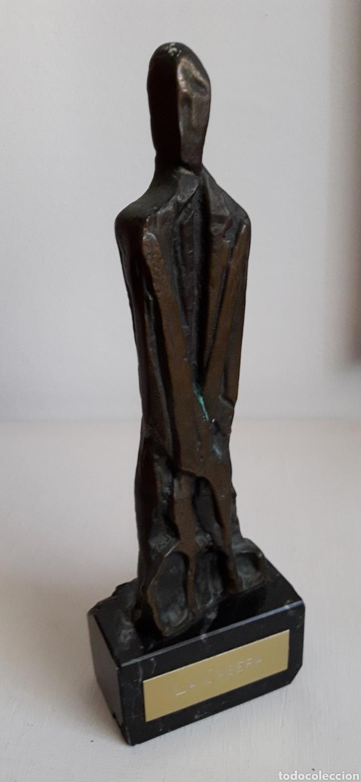 ESCULTURA LA CASERA. BRONCE. (Arte - Escultura - Bronce)