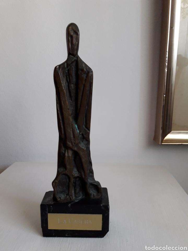 Arte: Escultura La Casera. Bronce. - Foto 2 - 111407540