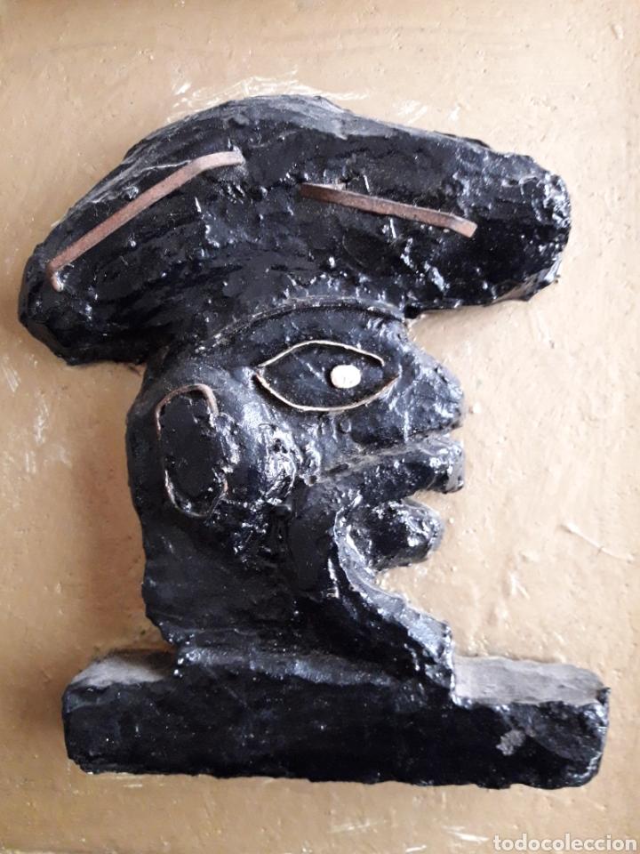 Arte: Qastiyo. Obra escultórica enmarcada. - Foto 2 - 111475438