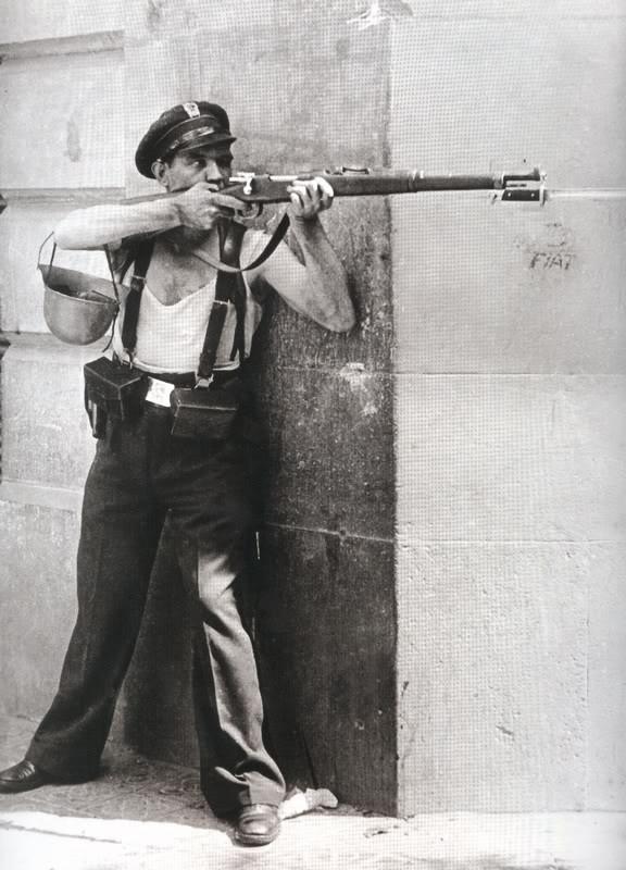 Arte: GUERRA CIVIL ESPAÑOLA,REPUBLICA,ESCULTURA MILICIANO,AÑO 1937 SIGUIENDO EL MODELO DE LOLA ANGLADA - Foto 10 - 111994195