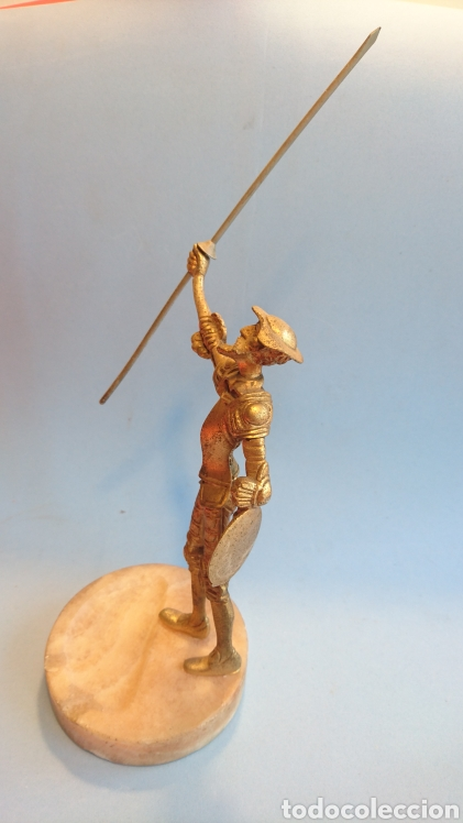 Arte: Figura Don Quijote de la Mancha metal 27 cm. - Foto 2 - 112142280