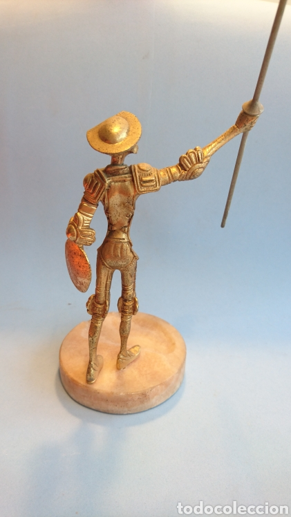 Arte: Figura Don Quijote de la Mancha metal 27 cm. - Foto 3 - 112142280