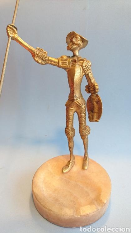 Arte: Figura Don Quijote de la Mancha metal 27 cm. - Foto 5 - 112142280