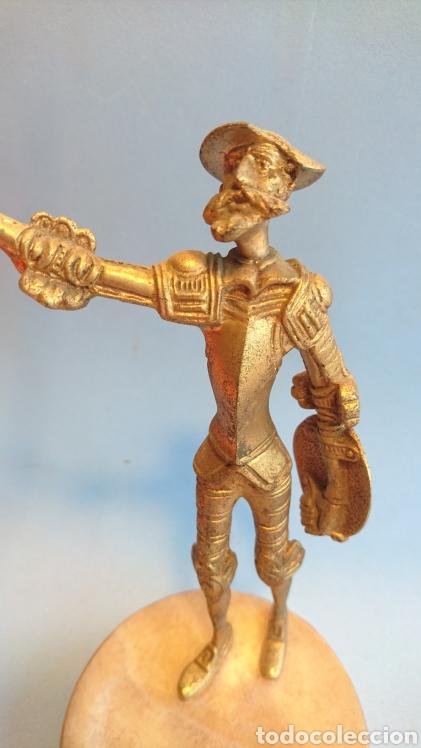 Arte: Figura Don Quijote de la Mancha metal 27 cm. - Foto 6 - 112142280