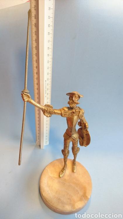 Arte: Figura Don Quijote de la Mancha metal 27 cm. - Foto 9 - 112142280