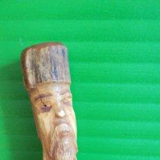 Arte: ANTIGUA FIGURA TRIBAL AFRICANA EN MARFIL. Lote 112705723