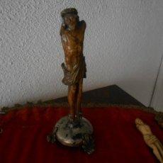 Arte: CRISTO DE HUESO ANTIGUO, S. XVIII. Lote 112707879