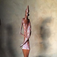 Arte: TALLA DE MADERA AFRICANA. Lote 112729211