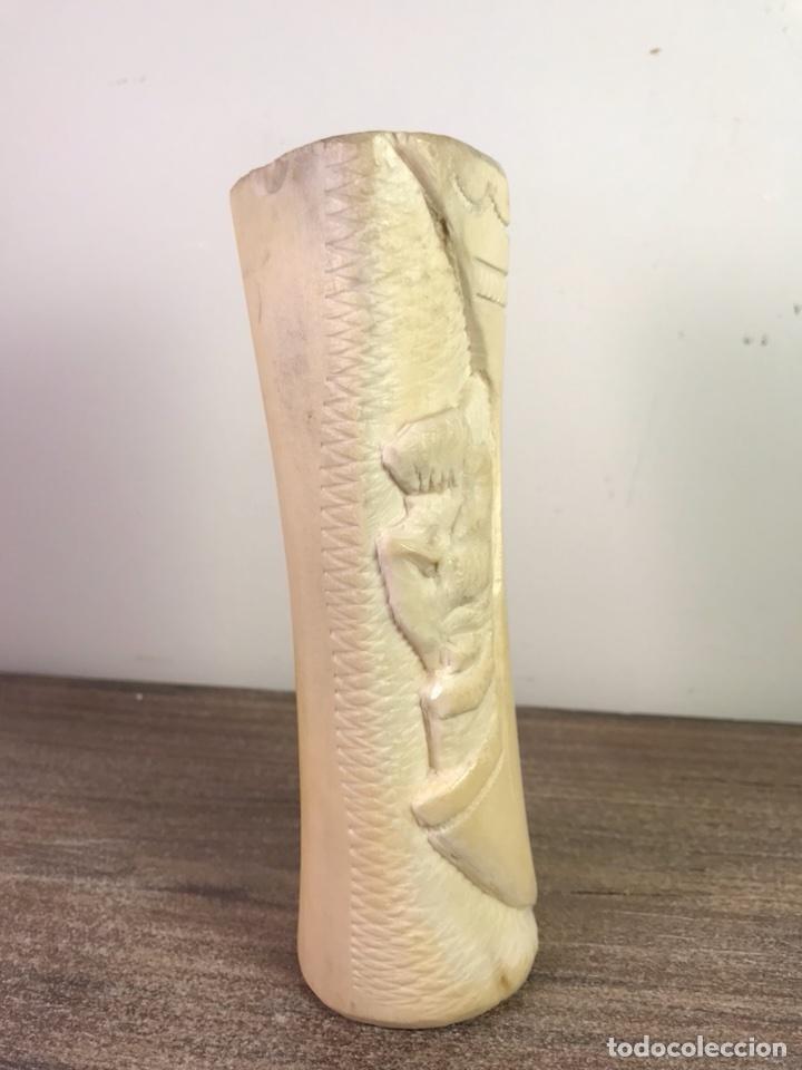 Arte: Figura Talla Hueso 1- África- 15 cm (No Marfil) - Foto 5 - 112743544