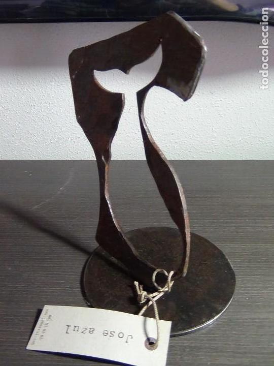 Arte: Escultura en Hierro Forjado del Escultor Jose Azul - Foto 7 - 112781499