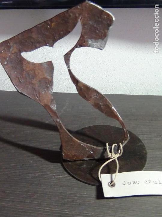 Arte: Escultura en Hierro Forjado del Escultor Jose Azul - Foto 9 - 112781499