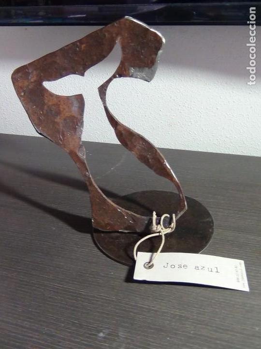 Arte: Escultura en Hierro Forjado del Escultor Jose Azul - Foto 10 - 112781499