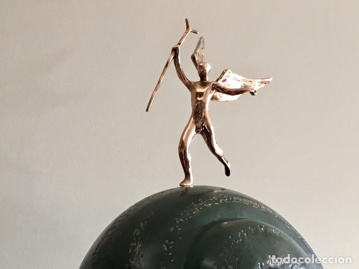 Arte: SALVADOR DALI - Caracol y Angel - escultura - Foto 2 - 112812795