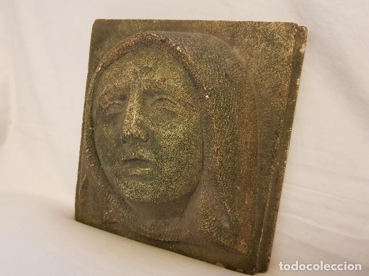 Arte: Dolorosa del artista español Joaquín Lucarini Macazaga (Lantarón 1905 – Burgos 1969) - Foto 3 - 112832739