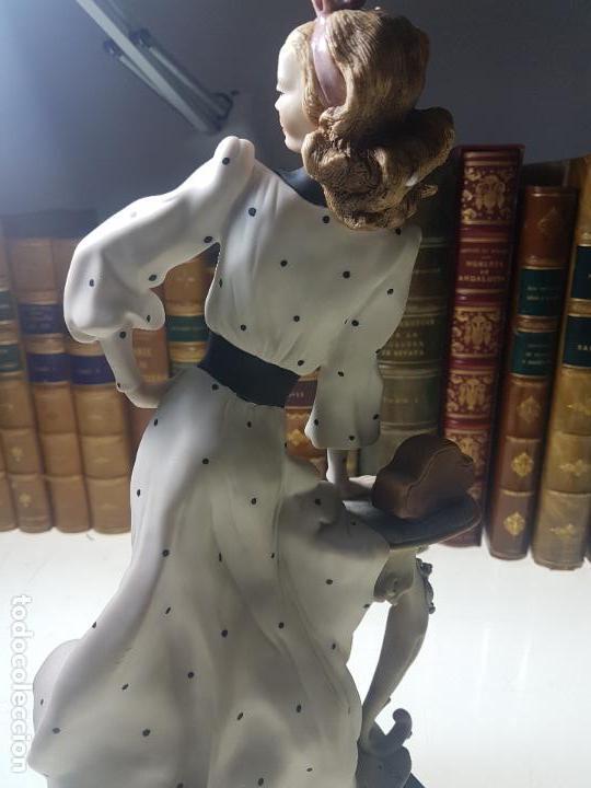 Arte: PRECIOSA ESCULTURA DE GIUSEPPE ARMANI - ANNA BELLA RETIRED VIA VENETO 638C - 1994 - RARA Y EXCLUIVA - Foto 8 - 112980323