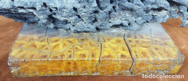 Arte: ROCA DEL CAP DE CREUS. ESCULTURA. BASE DE RESINA. CIRCA 1960. - Foto 4 - 113148687