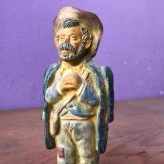 Arte: CURIOSA FIGURA EN TERRACOTA - DESCONOZCO ORIGEN Y EPOCA. Lote 113632535