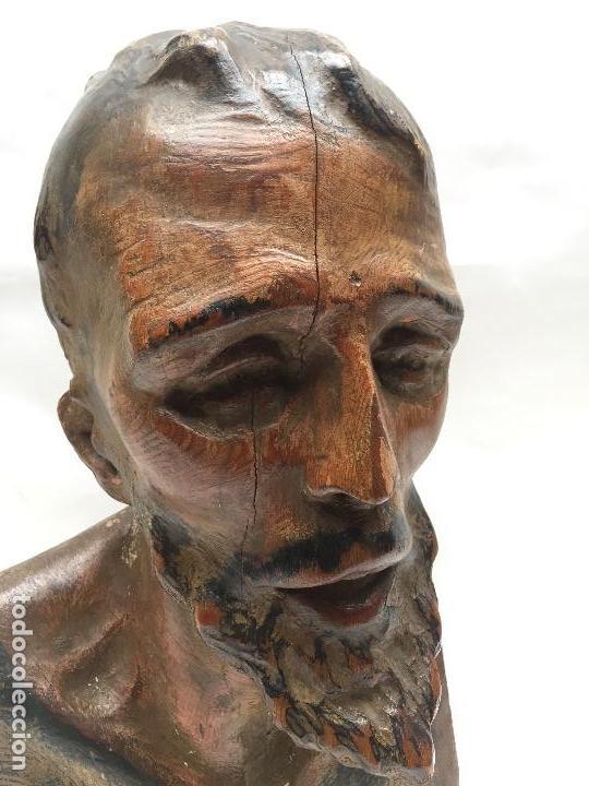 Arte: BUSTO DE SANTO VESTIDERO , SIGLO XVIII, - Foto 3 - 113707719