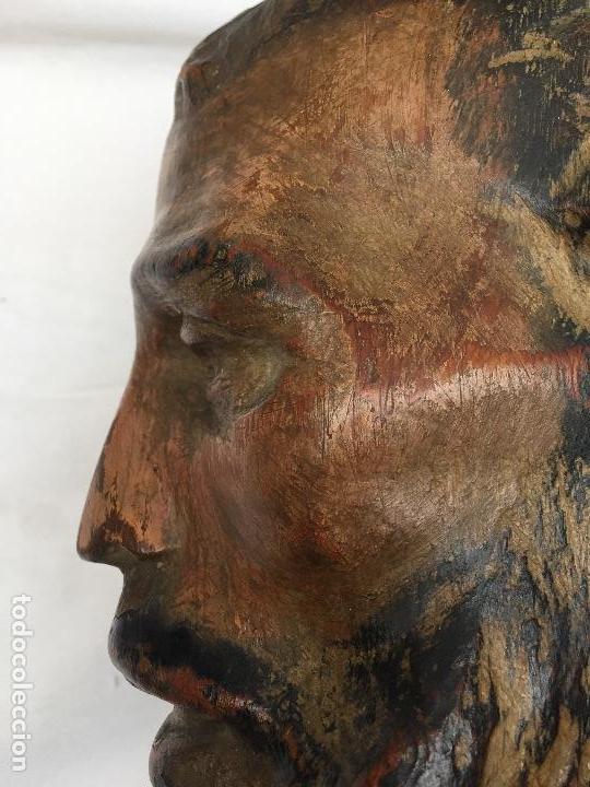Arte: BUSTO DE SANTO VESTIDERO , SIGLO XVIII, - Foto 10 - 113707719