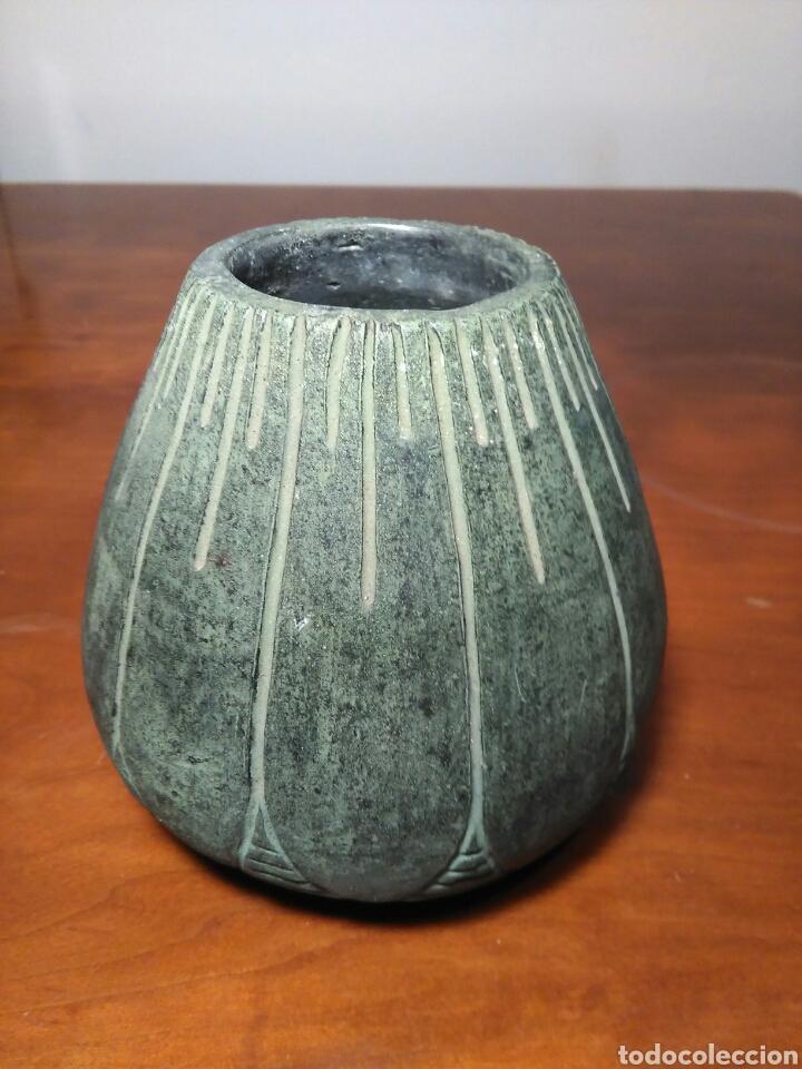 ANTIGUO JARRON DE TERRACOTA (SELLADO MARCO) (Arte - Escultura - Terracota )