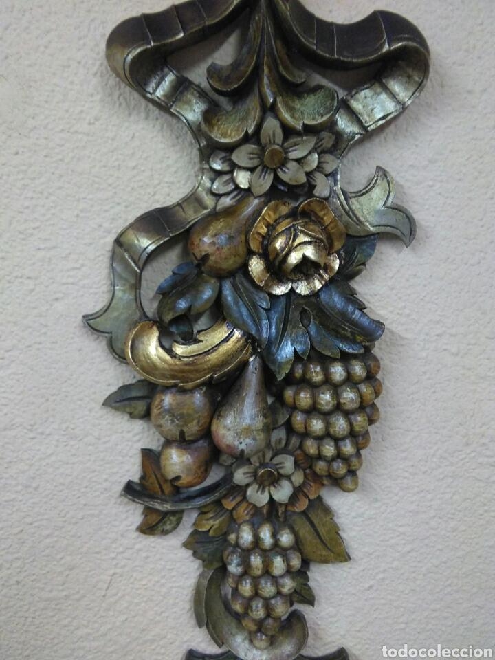 Arte: Ramo tallado madera - Foto 2 - 114500584