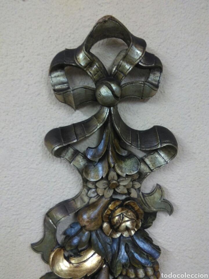 Arte: Ramo tallado madera - Foto 3 - 114500584