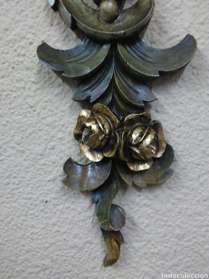 Arte: Ramo tallado madera - Foto 4 - 114500584