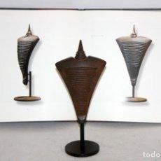 Arte: MANUEL ÀLVAREZ LOSADA (1945). ESCULTURA EN HIERRO DEL AÑO 2007. PUBLICADA. Lote 115137027