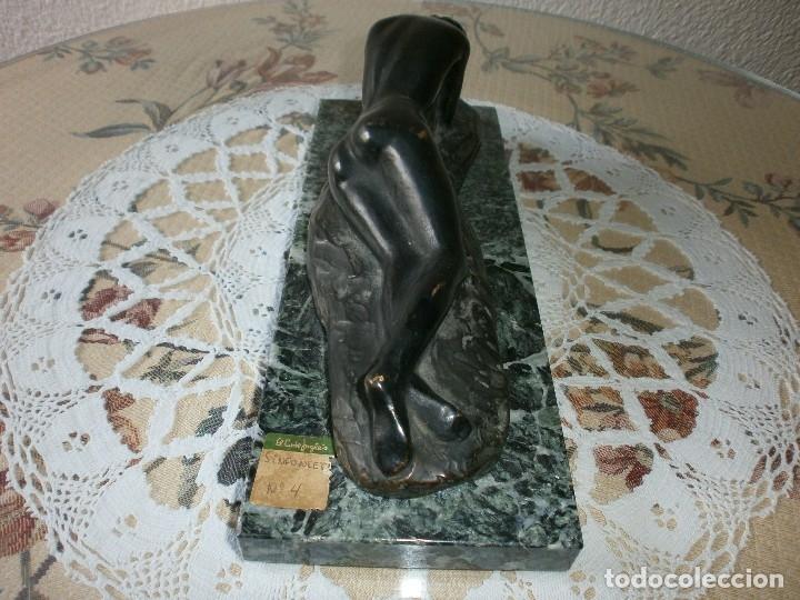 Arte: SINFONIETA - 7 ESCULTURAS EN BRONCE Y MÁRMOL - ESCULTOR SANTIAGO DE SANTIAGO. - Foto 13 - 116076307