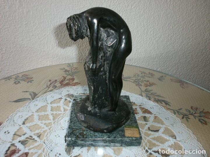 Arte: SINFONIETA - 7 ESCULTURAS EN BRONCE Y MÁRMOL - ESCULTOR SANTIAGO DE SANTIAGO. - Foto 10 - 116076307