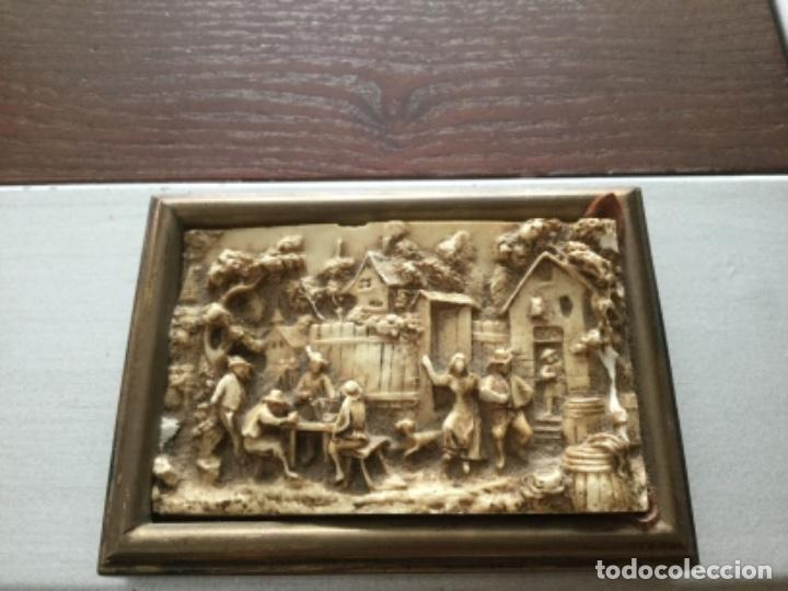 MINIATURA EN MARMOLINA (Arte - Escultura - Resina)