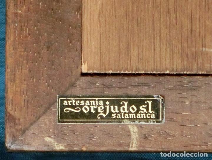 Arte: PRECIOSA PIEZA DE ALABASTRO - ORJUDO - SALAMANCA - ESCENA MEDIEVAL - RELIEVE ENMARCADO - ESCULTURA - Foto 20 - 116215311