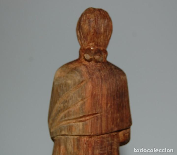 Arte: MATERNIDAD: Escultura Tallada a Mano en Madera. Madre o Virgen con Niño - Foto 4 - 116907007