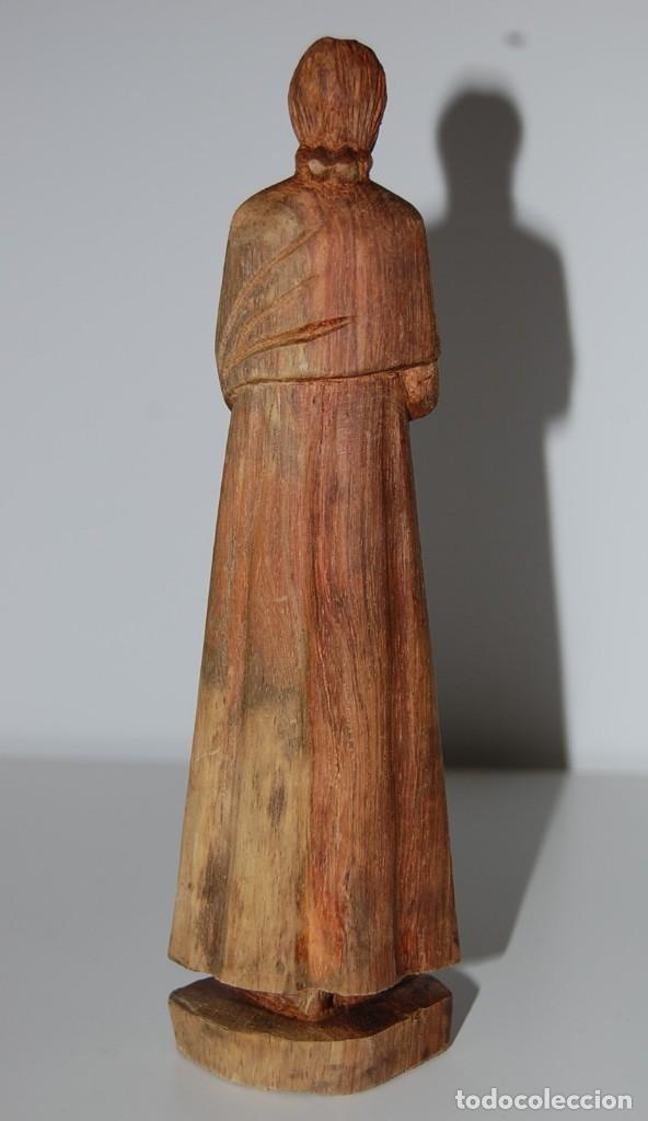 Arte: MATERNIDAD: Escultura Tallada a Mano en Madera. Madre o Virgen con Niño - Foto 8 - 116907007