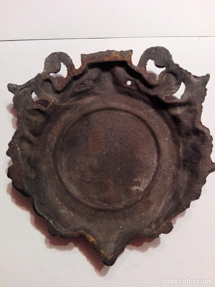 Arte: Antigua y preciosa placa de bronce - Foto 3 - 117250327