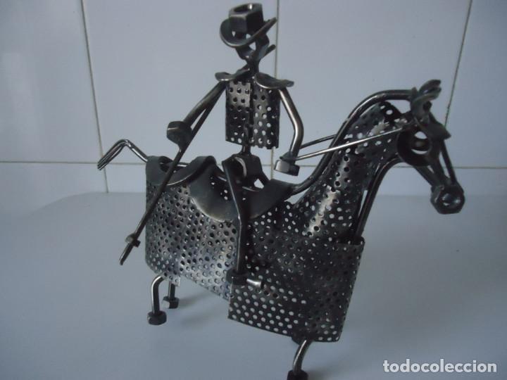 PICADOR (Arte - Escultura - Hierro)