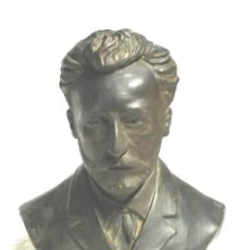Arte: BUSTO TERRACOTA LEYENDA 1 DE MAYO DE 1880, JOAN MARAGALL ???. MED. 18 X 22 CM ALTURA. Lote 117830935