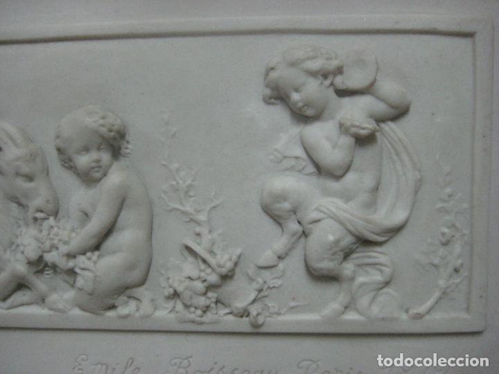Arte: PIEZA NEOBARROCA EL ESCULTOR EMILE-ANDRE BOISSEAU(1842-1923)BAJORELIEVE EN MARMOL FECHADO PARIS 1872 - Foto 11 - 118149911
