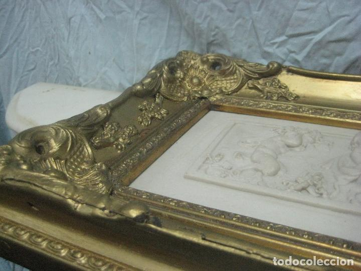 Arte: PIEZA NEOBARROCA EL ESCULTOR EMILE-ANDRE BOISSEAU(1842-1923)BAJORELIEVE EN MARMOL FECHADO PARIS 1872 - Foto 13 - 118149911