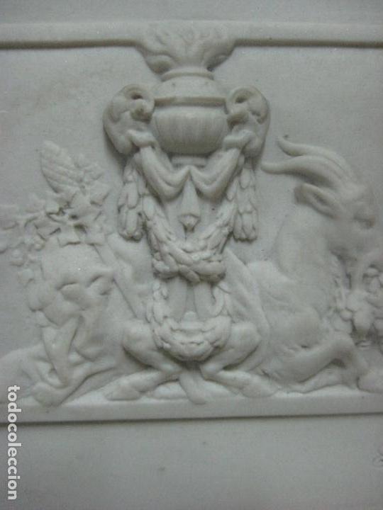 Arte: PIEZA NEOBARROCA EL ESCULTOR EMILE-ANDRE BOISSEAU(1842-1923)BAJORELIEVE EN MARMOL FECHADO PARIS 1872 - Foto 14 - 118149911