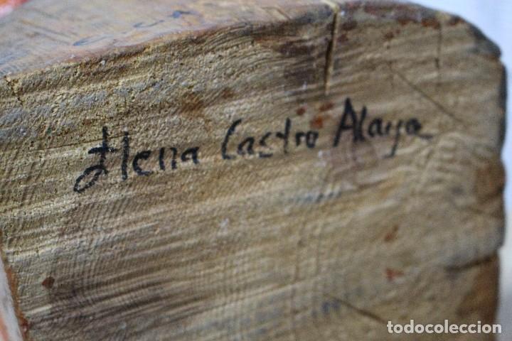 Arte: TALLA DE MADERA / AMOR PROPIO/ DE CASTRO ALAYA - Foto 11 - 118891751