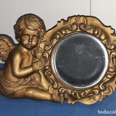 Arte: BONITO ANGELITO ESPEJO DE MARCA SIA COLECION. Lote 118938727