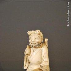 Arte - sabio chino tallado en marfil - 119434379